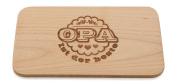 """'Breakfast Board/Bread Board with """"Opa ist der Beste (Granddad is the Best Perfect Gift Idea For Birthday"""