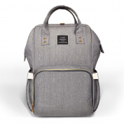 HEYI Nappy Bag Backpack Travel Large Specious Tote Shoulder Bag Organiser