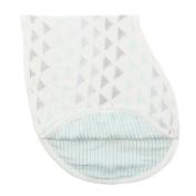 aden + anais Silky Soft Burpy Bib, skylight Birch
