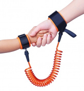 Cos2be Safety Anti Lost Wrist Link Leash Safety Hook and loop Harness For Toddler Baby Kid Child 200cm