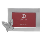 Arthur Court Designs Aluminium 4x6 Butterfly Gardern Photo Frame