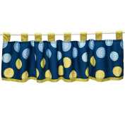 Space Bot Window Valance by True Baby