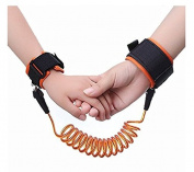 Baby Child Anti Lost Safety Hook and loop 2.5M Wrist Link, Outdoor Safety,Double Layer Safety Hook and loop For Babies