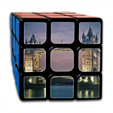 Magic Speed Cube: The Best Brain Training Game - Tower Bridge 3X3 Puzzle Cube Brain Teasers Puzzles, Anti Stress For Anti-anxiety Adults Kids, Best Rubix Puzzle Toy