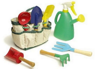 Children's Gardening Set with carry bag & tools