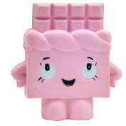Squishy Slow Rising Toy Stress Reliever Strawberry Cake Hand Wrist Toy