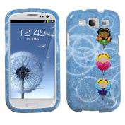 MYBAT SAMSIIIHPCIM965NP Compact and Durable Protective Cover for Samsung Galaxy S3 - 1 Pack - Retail Packaging - Fairy Ballerinas