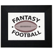 Fantasy Football League FFL Trendy Framed Print Poster Wall or Desk Mount Options