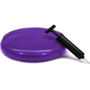 Yes4all Stability Disc 36cm with Hand Pump – Multi Colours Available