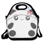 QIFAN Lunch Bags Panda Pattern Backpacks Picnic Bags Fast Food Packaging For Adult Kids Children