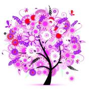 Vibola 5D Embroidery Paintings Rhinestone Pasted diy Diamond painting Cross Stitch wisdom Tree