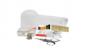 Living Solutions 31-PieceTravel Sewing Kit with Reusable Case