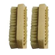 Sichun Wood Handle Nail Brush Bristle Fingernail Hand Foot Brush Manicure Brush
