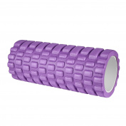 HiHiLL Foam Roller, 34*14*11cm, High Density Grid for Muscle Massage, Myofascial Release, Trigger Point Therapy, for Fitness, Sports, Yoga, Pilates