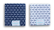 Waverly Inspirations Fat Quarters Bundle - Navy and White Anchor Set