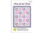 Quilt Woman Run For The Roses Ptrn