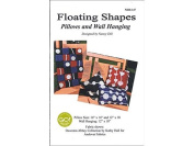 Quilt Woman Floating Shapes Ptrn