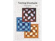 Quilt Woman Twirling Pinwheels Ptrn