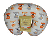Nursing Pillow Slipcover Baby Grey Foxes Design Maternity Breastfeeding Newborn Infant Feeding Cushion Cover Case Baby Shower Gift for New Moms