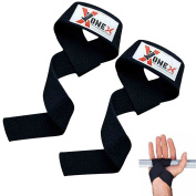 Fitness Wrist straps Gym Straps Crossfit Bodybuilding Power Training Workout Exercise