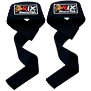 Rix Padded Weight Lifting Straps Hand Bar Wrist Support Gloves Gym Training Wraps