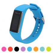 For Polar A360 Smart Watch Fitness Tracker Replacement Watchband - iFeeker Soft Silicone Rubber Watch Band Wrist Strap Case for Polar A360 Smart Watch