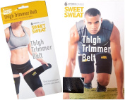 THIGH TRIMMER BELT SUANA SWEAT NEOPRENE TRIM WAIST SHED EXCESS WATER -FITNESS EXERCISE RUNNING JOGGING LEG THIGH TRIM SWEAT WRAPS