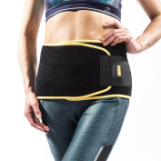RooLee Waist Support Waist Trimmer Belt Waist Brace Breathable & Adjustable Neoprene Back Support & Pain Relief & Prevention of Injuries