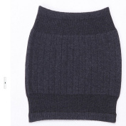 HugeStore Winter Soft Elastic Cashmere Waist Warmer Waist Support Sleeve Binder Belt for Women Men Deep Grey