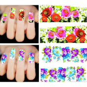 MSmask Nail Art Stickers Stamping Decals New Fashion Professional Women Lady 50 sheets 3D
