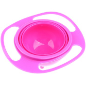 Sharplace Fashion Children Feeding Toddler Gyro Bowl Avoid Food Spilling