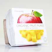 Clearspring | Apple & Mango Puree - Org | 11 x 2x100g