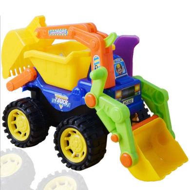 NACOLA Toddler Toys Bulldozer Car Dump Truck Excavator for Children