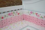 Nurture Imagination Garden District Airflow Crib Safety Bumper