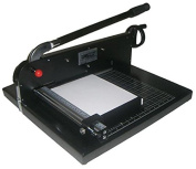 "COME 2770EZ Guillotine Paper Cutter Desktop Stack Paper Cutter 12"" Cutting Width NEW"