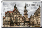0368 DRESDEN FRIDGE MAGNET THE CITY OF GERMANY REFRIGERATOR MAGNET GERMANY LANDMARKS, GERMANY ATTRACTIONS