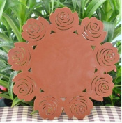 A-goo Rose Petal Thickening Silicone Insulated gasket Middle size