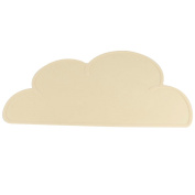 Waterproof Silicone Placemat Lovely Cloud Mat for Kids of All Ages