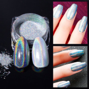 Modelones Laser Holographic Nail Powder Chrome Gel Nail Art Pigment