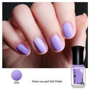 Fullfun Nail Art Water-based Peel Off Peelable Polish Nail Lacquer Care Nail Beauty