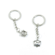 50 Pieces Keychain Keyring Door Car Key Chain Ring Tag Charms Supply N2TL5T Tortoise Turtle