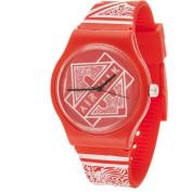 Airwalk Watch, Red Silicone Band