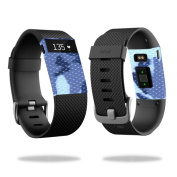 Skin Decal Wrap for Fitbit Charge HR cover sticker skins Blue Camo