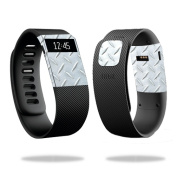 Skin Decal Wrap for Fitbit Charge cover sticker skins Diamond Plate