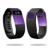 Skin Decal Wrap for Fitbit Charge cover sticker skins Purple Diamond Plt