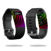 Skin Decal Wrap for Fitbit Charge HR cover sticker skins Colour Wheel