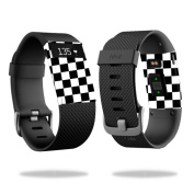 Skin Decal Wrap for Fitbit Charge HR cover sticker skins Cheque