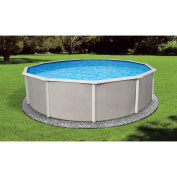 BlueWave Products ABOVE GROUND POOLS NB2520 3.7m Round 130cm Belize Steel Pool