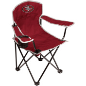 NFL San Francisco 49Ers Youth Size Tailgate Chair from Coleman by Rawlings