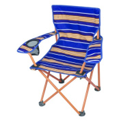 Ozark Trail Kids' Orange Strip Camp Chair